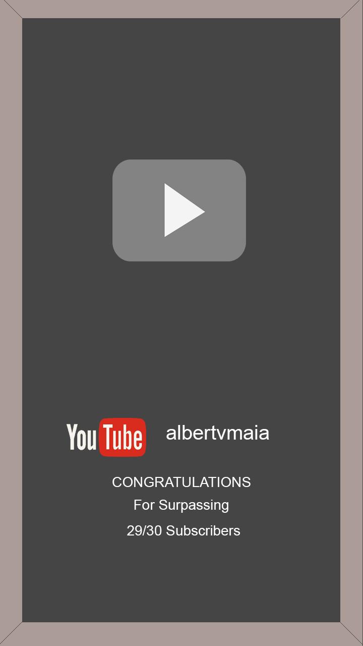 Albert Vinícius Maia Cria A Sua Própria Placa Do Youtube