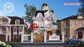 Mẫu thiết kế biệt thự Pháp với màu trắng sang trọng quý phái - Mã số BT2629 - Ảnh 1
