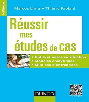 Livre Réussir mes études de cas en PDF