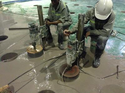 Khoan cắt bê tông tại phường Hiệp Bình Phước