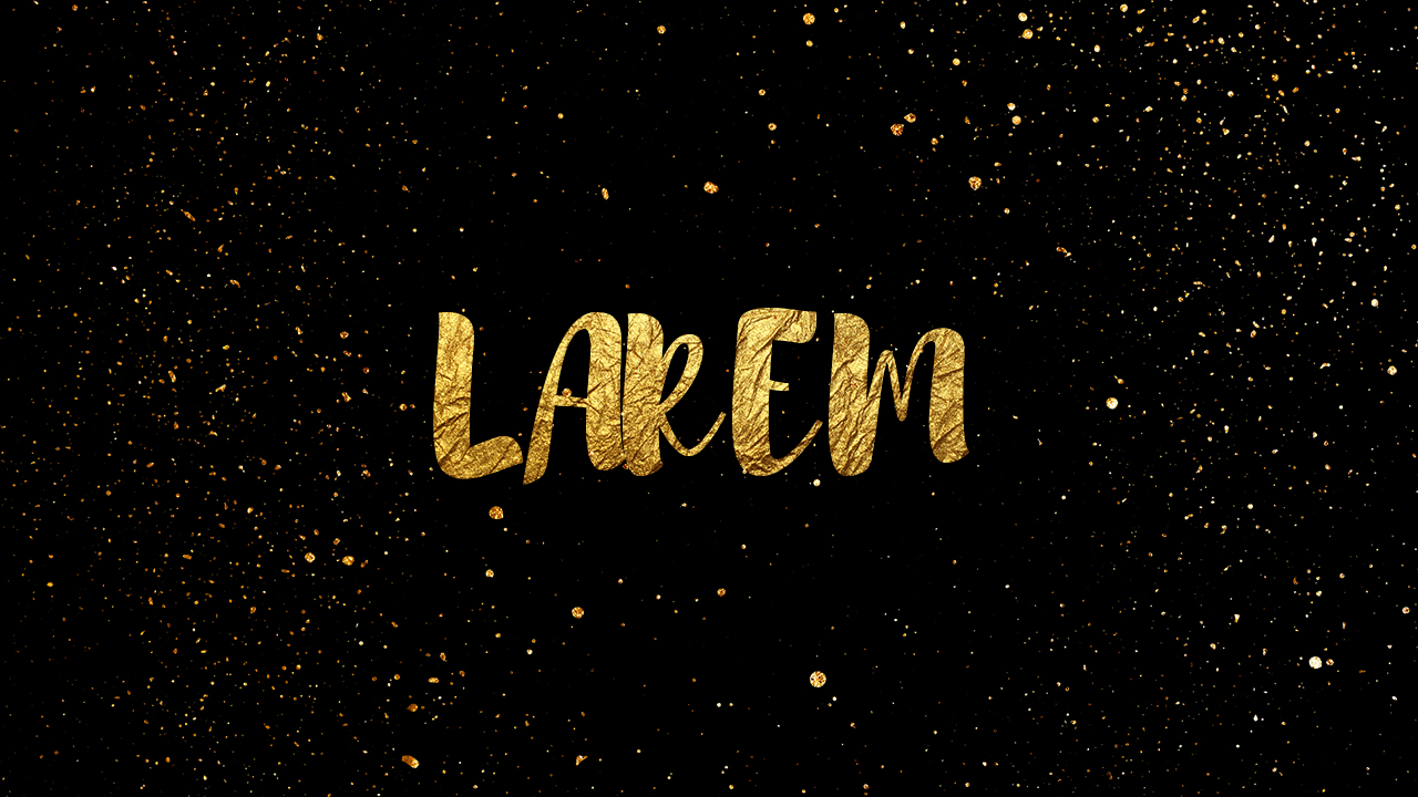 Gold text effect photoshop photoshop tutorials larem designer today with this quick tutorial i will show you how to make the gold text effect just follow my steps in my video bellow hope you will enjoy it baditri Image collections