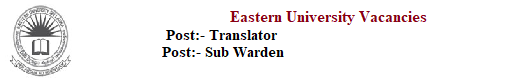Translator / Sub Warden