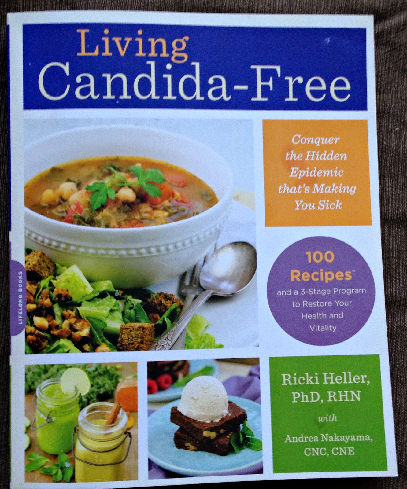 Recipe For Chard In Addition To Chickpea Soup In Addition To A Review Of Ricki Heller's Living Candida-Free