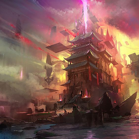 Fantasy World Castle Wallpaper Engine