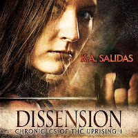 Dissension Old Cover AudioBook Katie Salidas