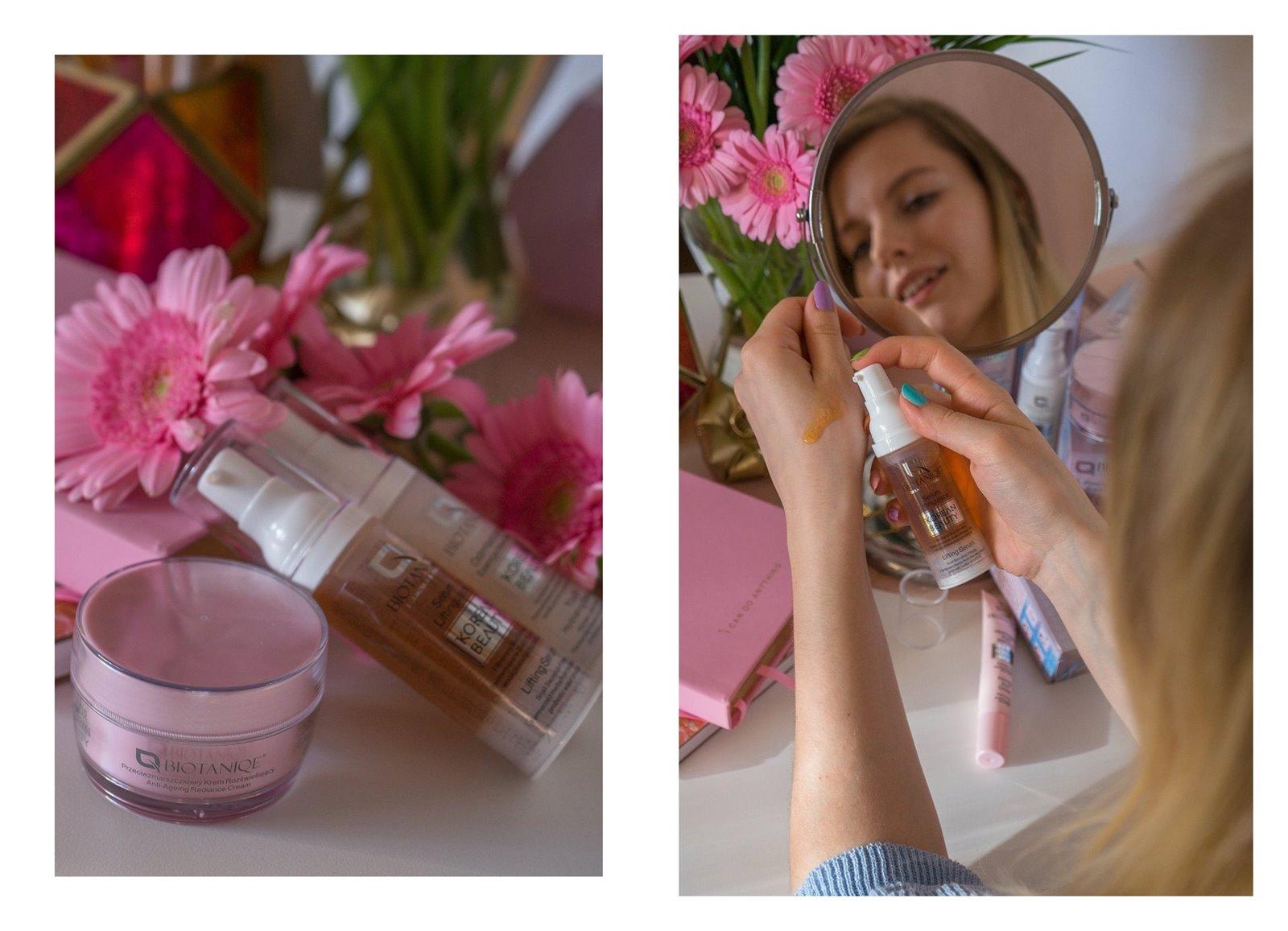 6A biotaniqe koreańska pielęgnacja krok po kroku w jakiej kolejności nakładać kosmetyki jak dbać o cerę koreańskie kosmetyki kremy serum maski korean beauty instagram melodylaniella łódzka blogerka lifestyle
