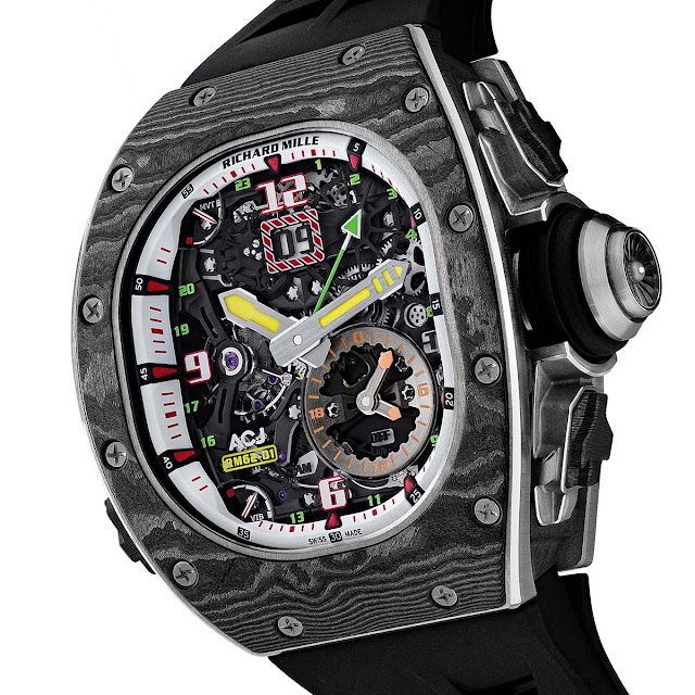 Richard Mille RM 62-01 Tourbillon Vibrating Alarm ACJ