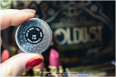 LUNA pareri eyeshadow ombretto  goldust collection Nabla cosmetics