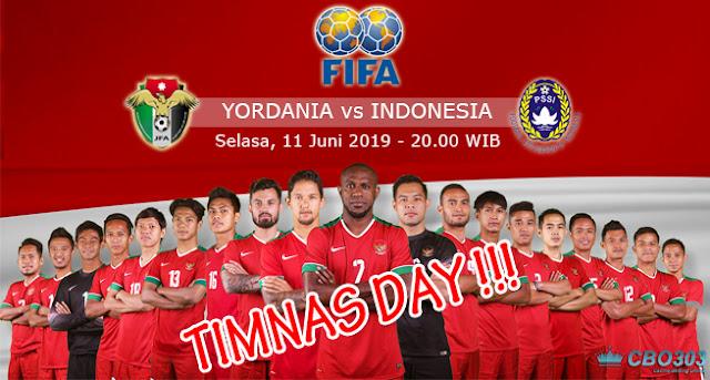 Prediksi Laga Persahabatan Yordania vs Indonesia (11 Juni 2019)