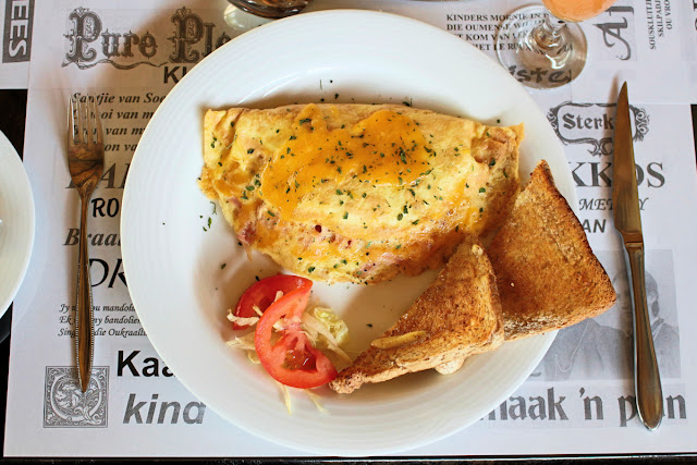 Breakfast Omelette at Big5 Guesthouse