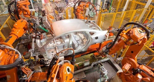 Ford's smarter robots are speeding up assembly lines