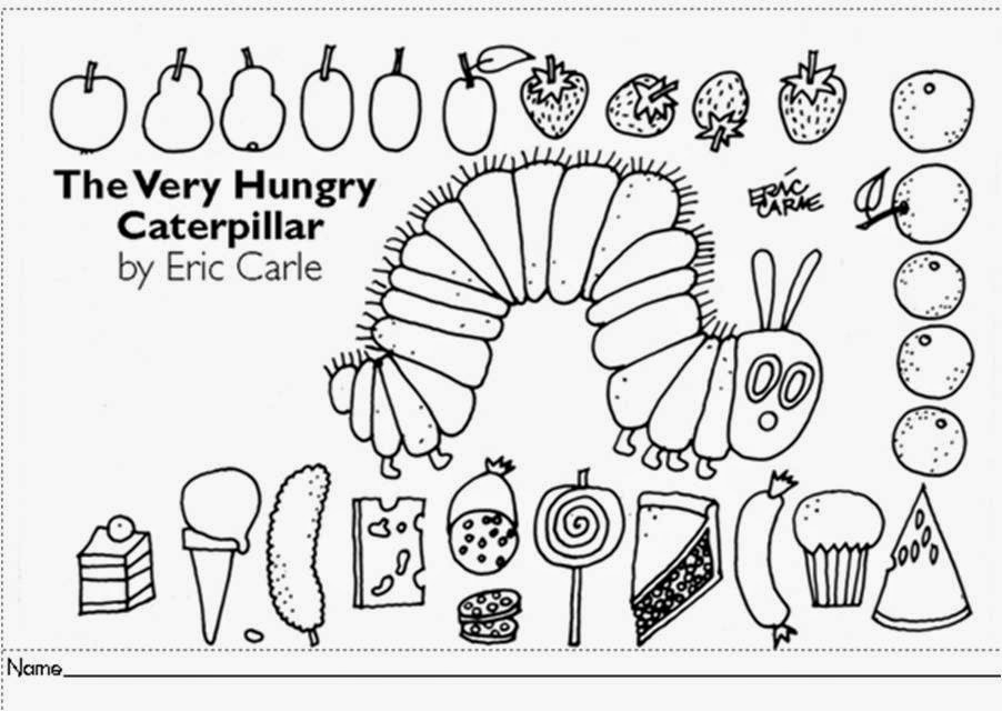 Cindy Sweeney's Class: It's Very Hungry Caterpillar Time!