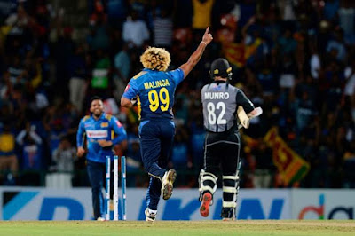 LASITH Malinga becomes the leading wicket-taker in T20Is