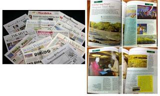medaia cetak, media kampanye