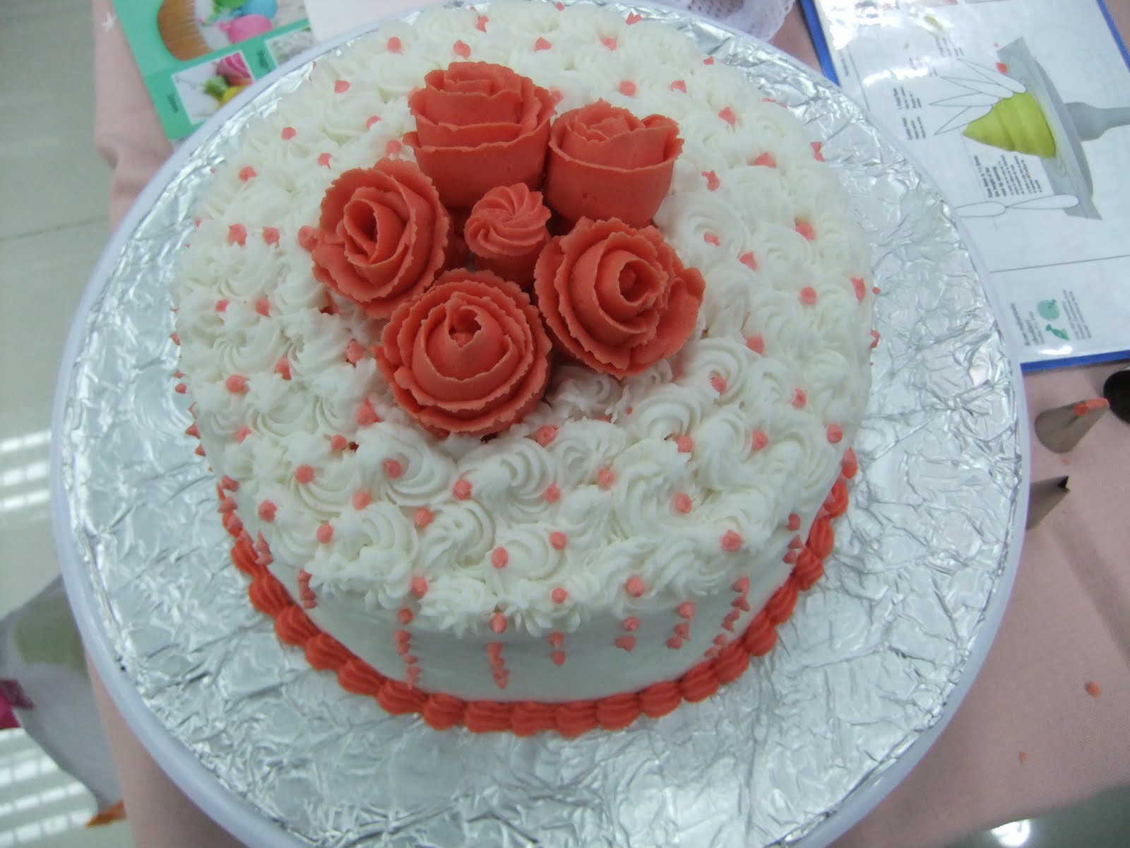 Prayers Hugs Amp Diapers Wilton Method Basic Cake Decorating Course Graduation