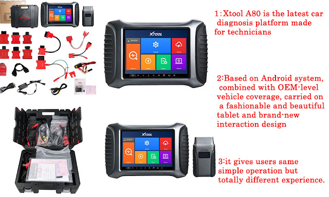 XTOOL A80 H6 Scan Tool