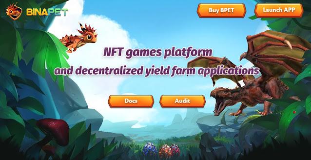 Screenshot Website Binapet (BPET)
