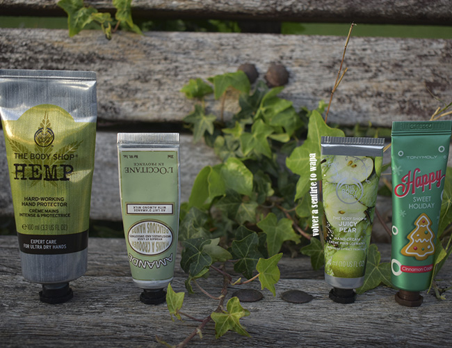 Cremas de Manos: The Body Shop, L'occitane y Tonymoly