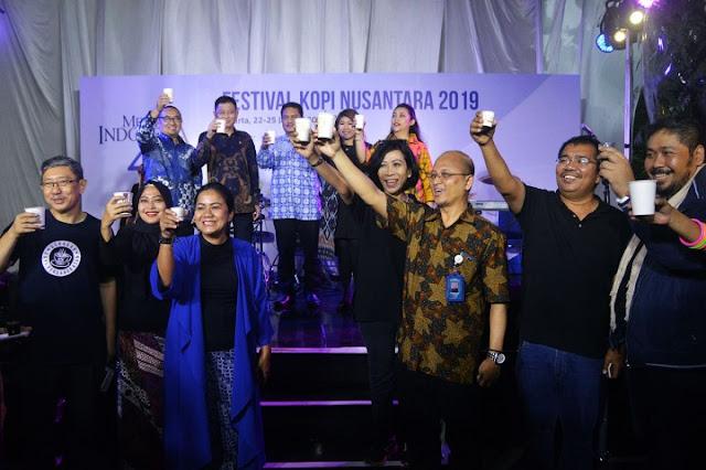 Puluhan UKMI dari 25 Provinsi Meriahkan Festival Kopi Nusantara di Kota Tua