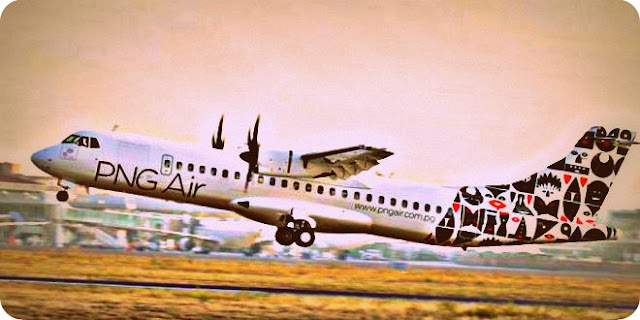 PNG Air dari Mount Hagen Siap Mendarat di Bandara Sentani
