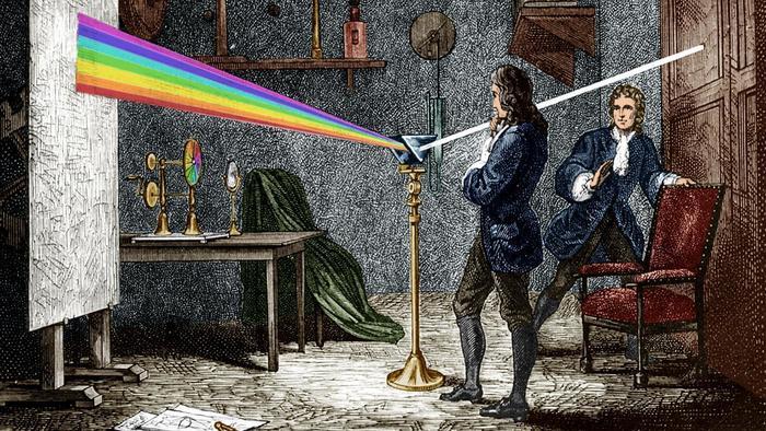 Newton experiment