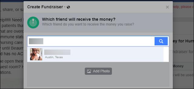 Come chiedere denaro per gli amici su Facebook
