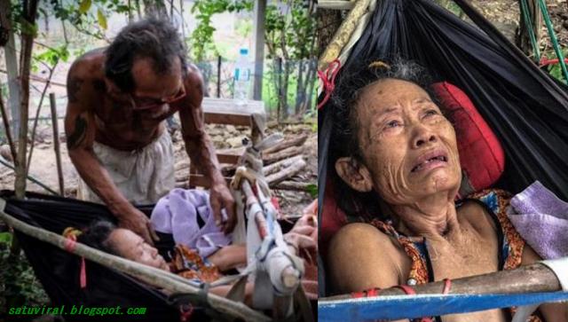 Benar-Benar Cinta Sejati, Demi Rawat Sang istri Tercinta, Seorang Suami Rela Kelaparan Selama Bertahun-tahun