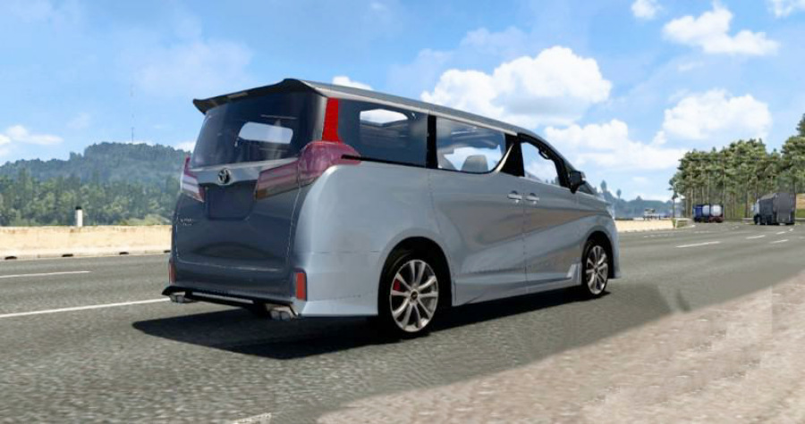 Mobil Toyota Alphard V0 0 1 Ets2 1 39 1 40 Mod Ets2 Indonesia