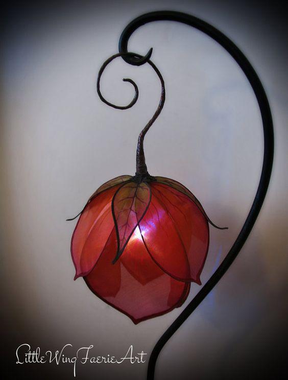 lampki z jedwabiu