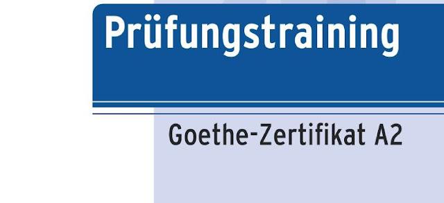 كتاب التدريب على امتحان اللغة الألمانية النموذج الجديد