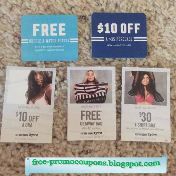 Victoria secret coupon codes 2018