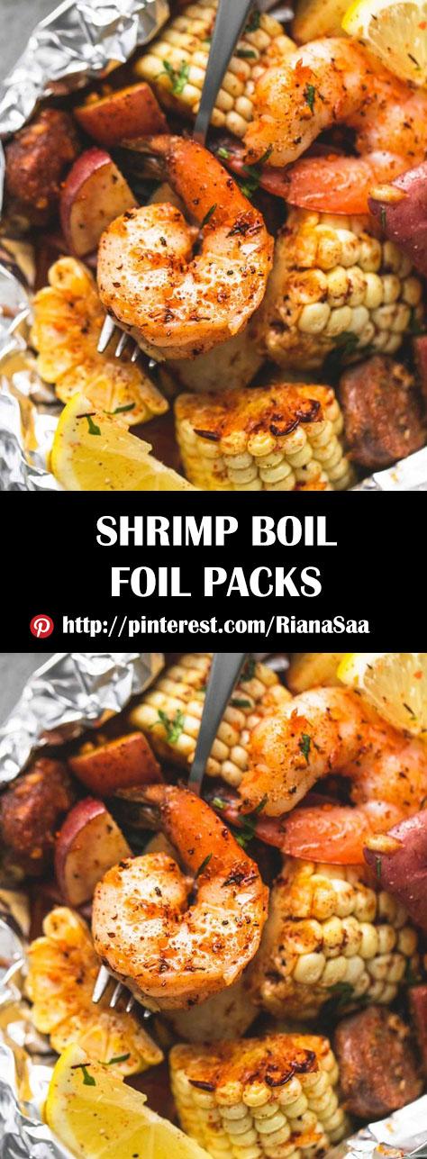 SHRIMP BOIL FOIL PACKS | Hobbies Cooking