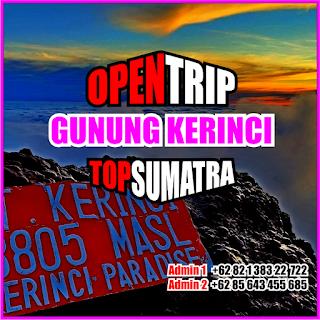 Open Trip Gunung Kerinci 2021 Via Kersik Tuo 5H4M