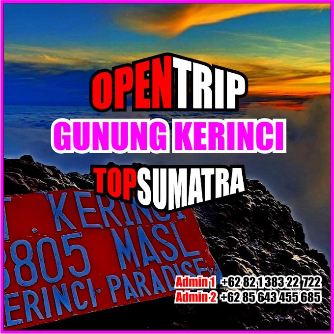 Open Trip 2021 Gunung Kerinci Jalur Pendakian Via Kersik Tuo