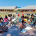Keceriaan Anak-Anak Perbatasan Saat Disambangi Perpustakaan Keliling Yonif 125/SMB.