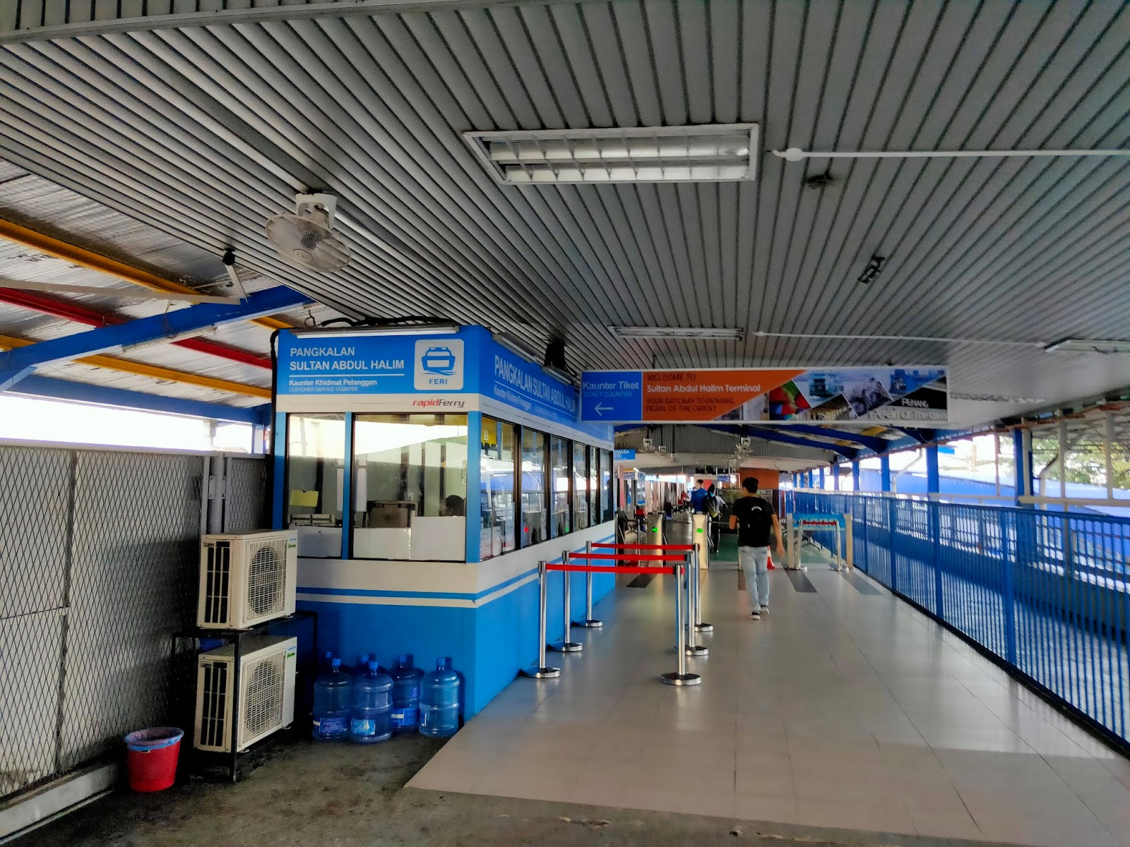 penang ferry ticketing counter