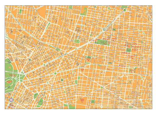 México city map