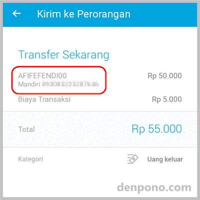 Bayar Shopee Pakai JENIUS Via Bank Transfer