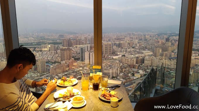 新北板橋-Mega 50餐飲及宴會(50樓cafe)-台灣最高的自助餐 Buffet吃到飽