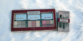QUO Cosmetics for the Holidays ~ #QUOHOLIDAY #Review #Giveaway #2017GiftGuide Beauty on the go Trio QUO Brow Essential Kit