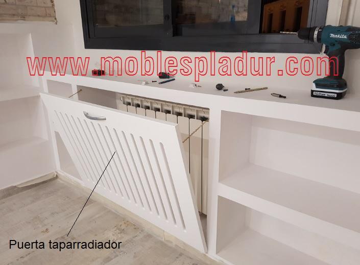 Pladur barcelona dormitorio con cabezal y mueble - Mueble para radiador ...