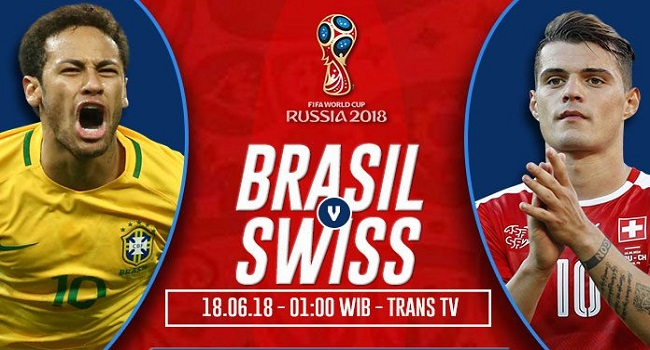 live streaming brazil vs swiss 17 juni 2018