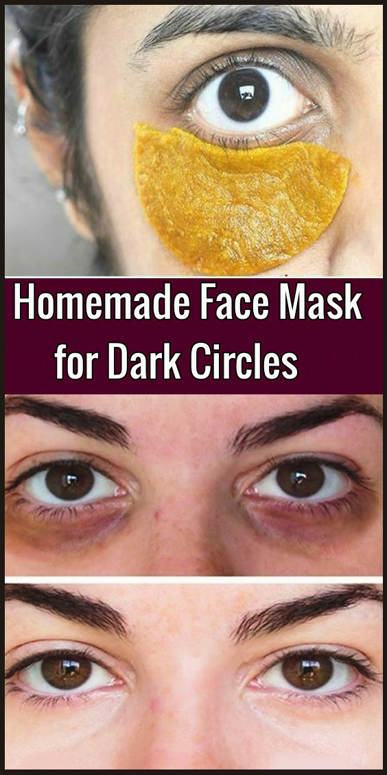 Homemade Face Mask for Dark Circles Under Eyes - Beauty 4 You
