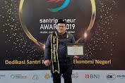 Muhammad Juara Dunia Di China Di Anugerahi Duta Santripreneur Indonesia 2019, ini Berkat Binaan Ketua PMI SUMUT Dr. H. Rahmat Shah