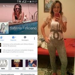 Fotos amadoras da Sabrina Feliciano que mandou nudes pro ficante e vazou na web