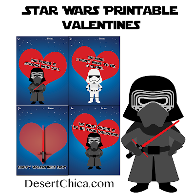 Desert Chica   Dark Side Star Wars Valentines