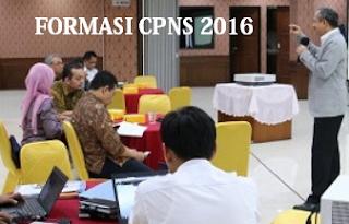 Formasi CPNS 2016