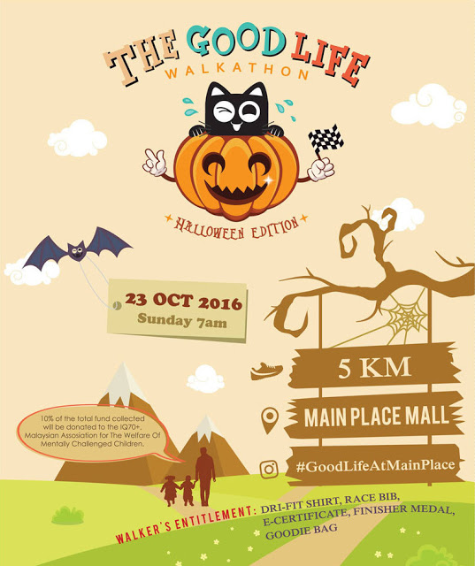 The Good Life Walkathon 2016 - Halloween Edition @ Main Place Mall USJ