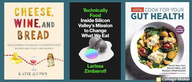 Books for Foodies, Spring 2021
