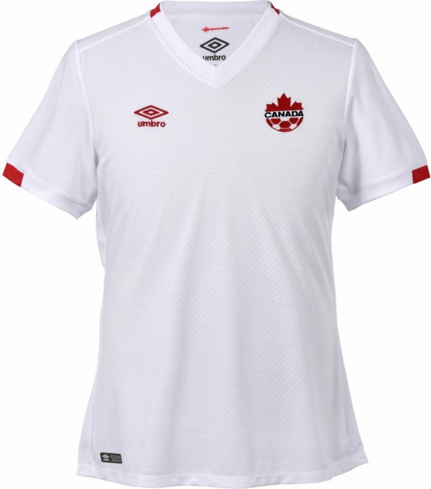Umbro lança a nova camisa reserva do Canadá - Show de Camisas b60fa2abe8cb2